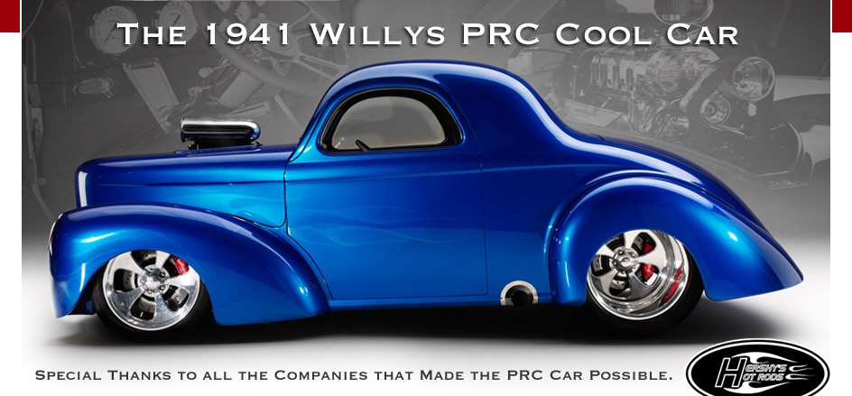 The Willys PRC Cool Car Performance Rod Custom - Cool car companies